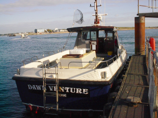 Dawn Venture, Langstone Harbour
