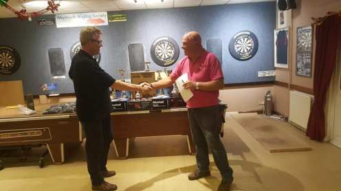 Andy Selby Weymouth Angling Centre our sponsor